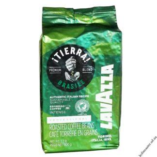 Кофе Lavazza TIERRA BRASILE в зёрнах 1 кг